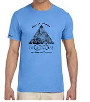 man's carolina blue crew shirt