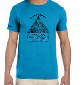 man's sapphire crew shirt
